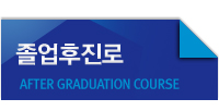 졸업후진로 AFTER GRADUATION COURSE